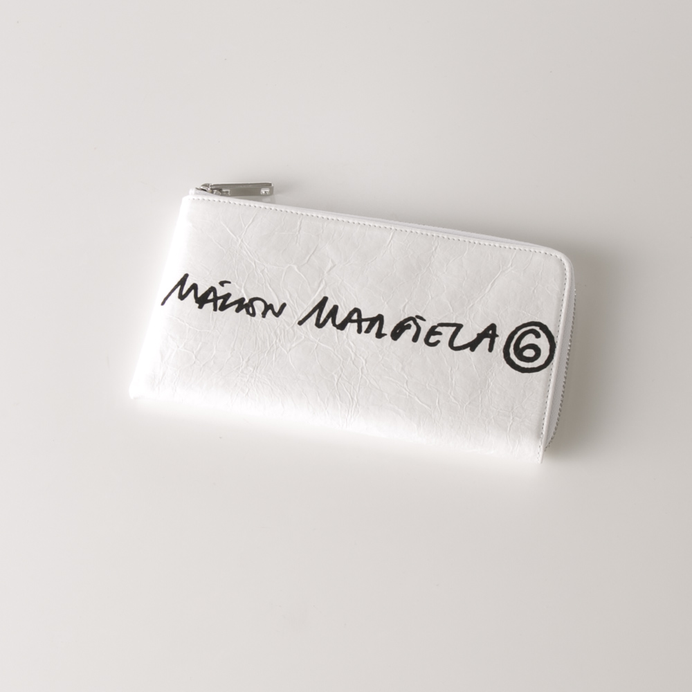 エムエム6 メゾンマルジェラ MM6 Maison Margiela 長財布 HANDWRITTEN LOGO S54UI0123-P4145【FITHOUSE ONLINE SHOP】