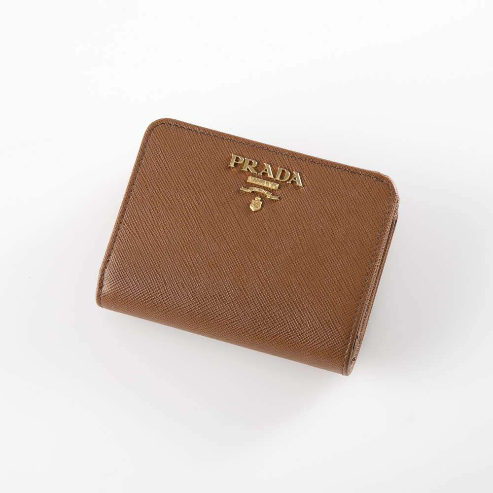 プラダ PRADA 折財布 SAF.METダイ折小L字F 1ML018-QWA【FITHOUSE ONLINE SHOP】