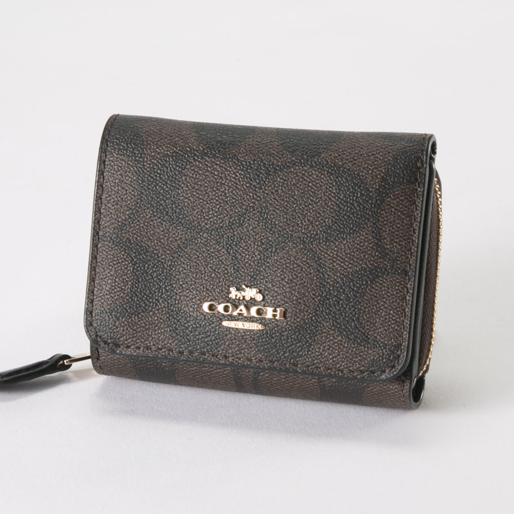 コーチ COACH 折財布 PVCシグネ三折外RF小銭 F41302【FITHOUSE ONLINE SHOP】