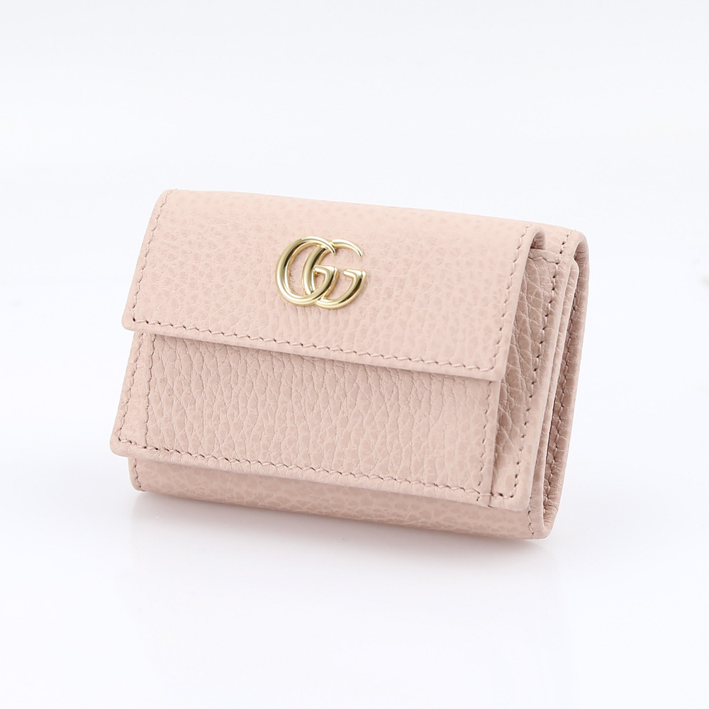 GUCCI グッチ PETITE MARMONT TINYミニ折財布 523277CAO0G/5909 ピンク【FITHOUSE ONLINE SHOP】