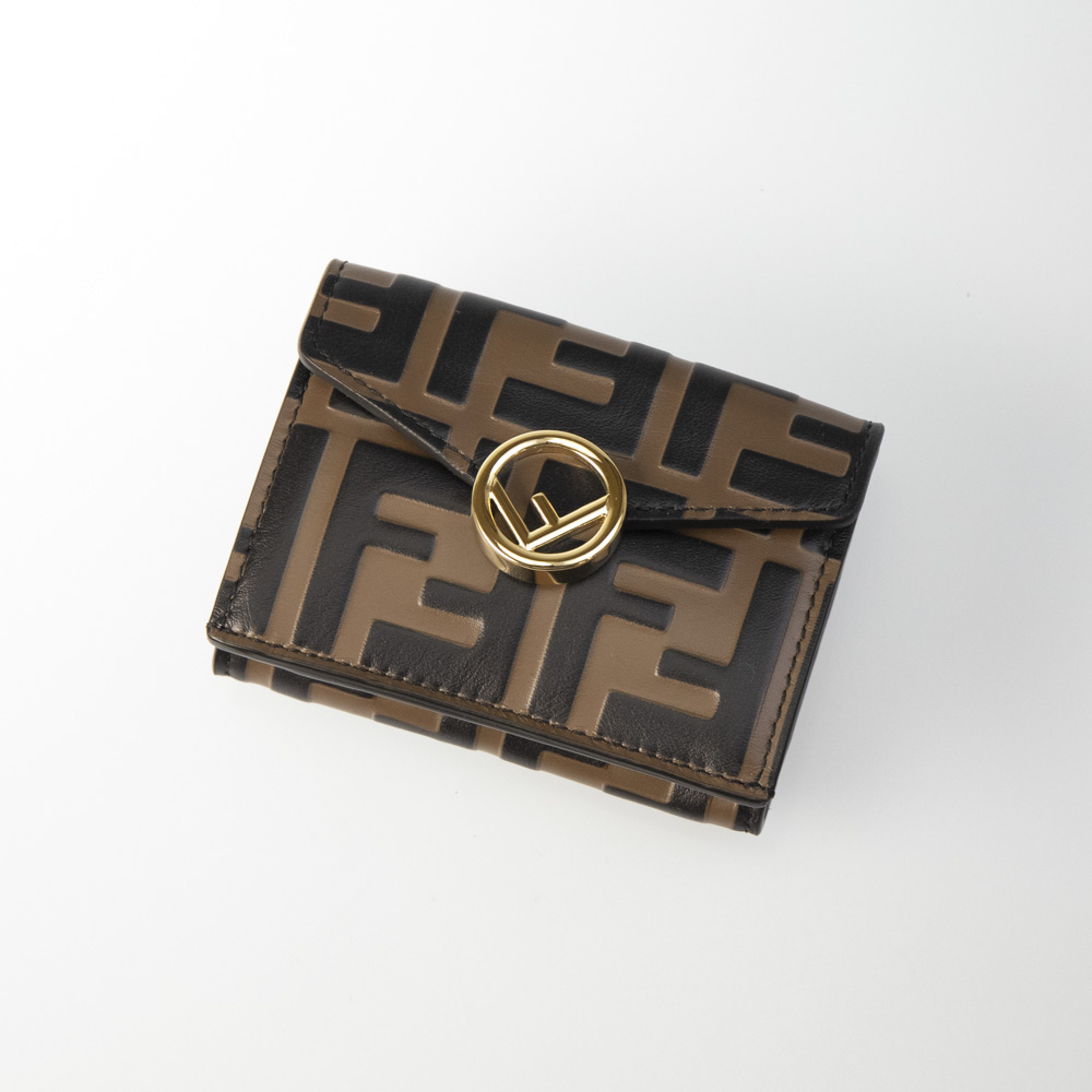 フェンディ FENDI 折り財布 F IS FENDIロゴ三折TINY 8M0395-AAFM【FITHOUSE ONLINE SHOP】
