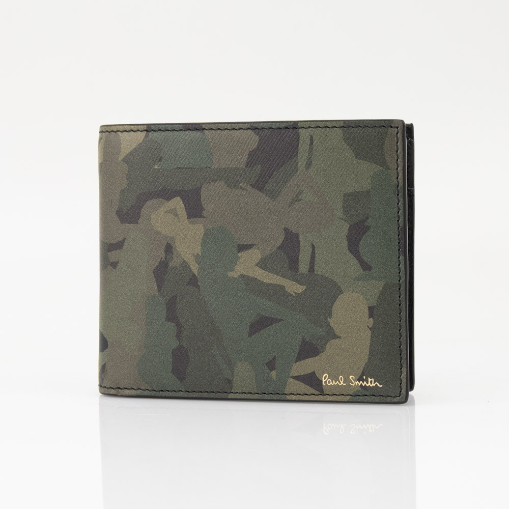 ポールスミス Paul Smith 折財布 NAKED LADY CAMO折小銭 M1A4833 ANLCAM CAMO コンビ【FITHOUSE ONLINE SHOP】