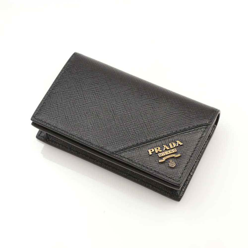 プラダ PRADA 名刺入れ SAF.METAL名刺入/NERO1 2MC122-QME【FITHOUSE ONLINE SHOP】