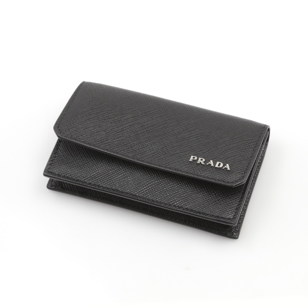 プラダ PRADA SAF.CORNER名刺入れ/NERO 2MC122-QTD【FITHOUSE ONLINE SHOP】