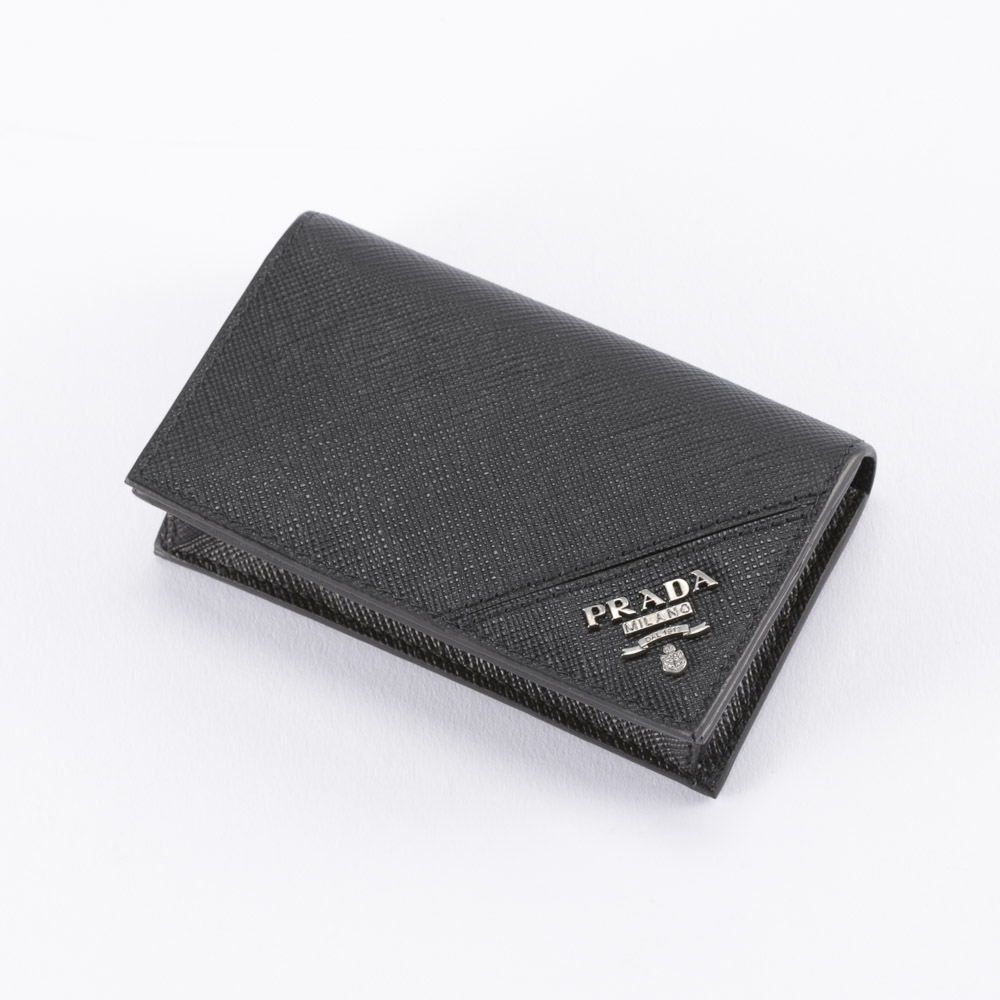 プラダ カードケース SAFFIANO METAL PRADA 2MC122 QME NERO【FITHOUSE ONLINE SHOP】