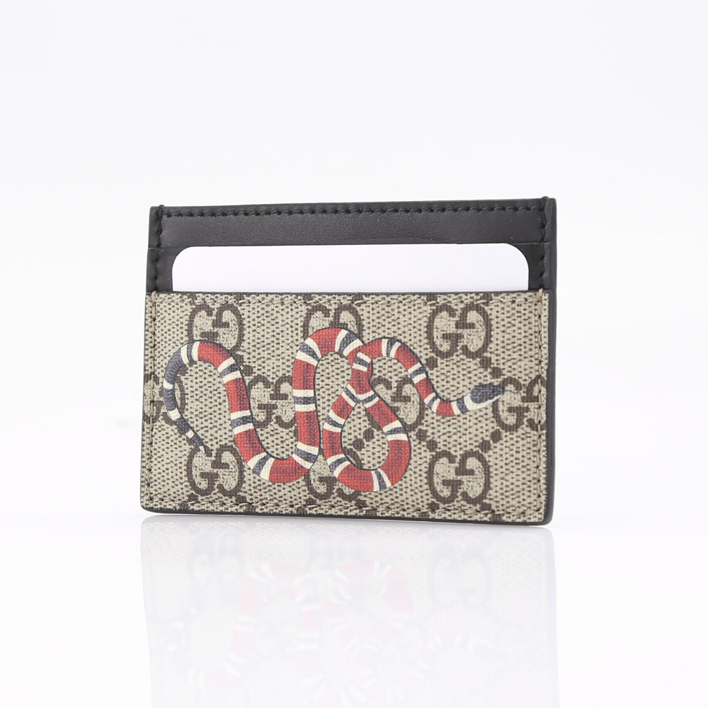 GUCCI グッチ BESTIARYヘビカードケース 451277K541N/8666 ベージュ/コンビ【FITHOUSE ONLINE SHOP】