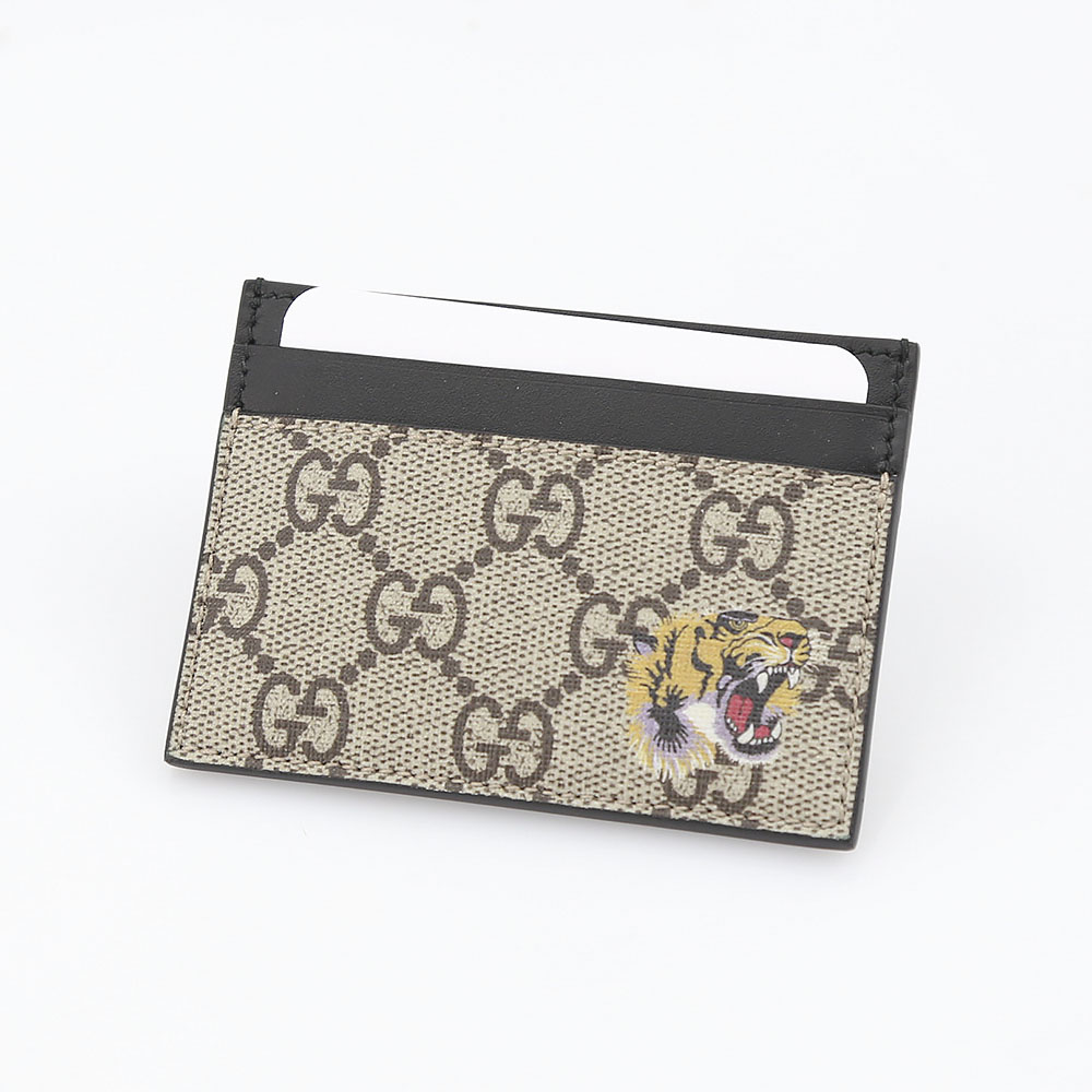 GUCCI グッチ BESTIARYタイガーカードケース 451277K5X1N/8666 ベージュ/コンビ【FITHOUSE ONLINE SHOP】