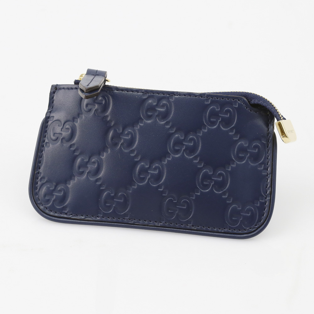 GUCCI  LINEA A GGシマKR付小銭入 447964CWC1G ギフトラッピング無料