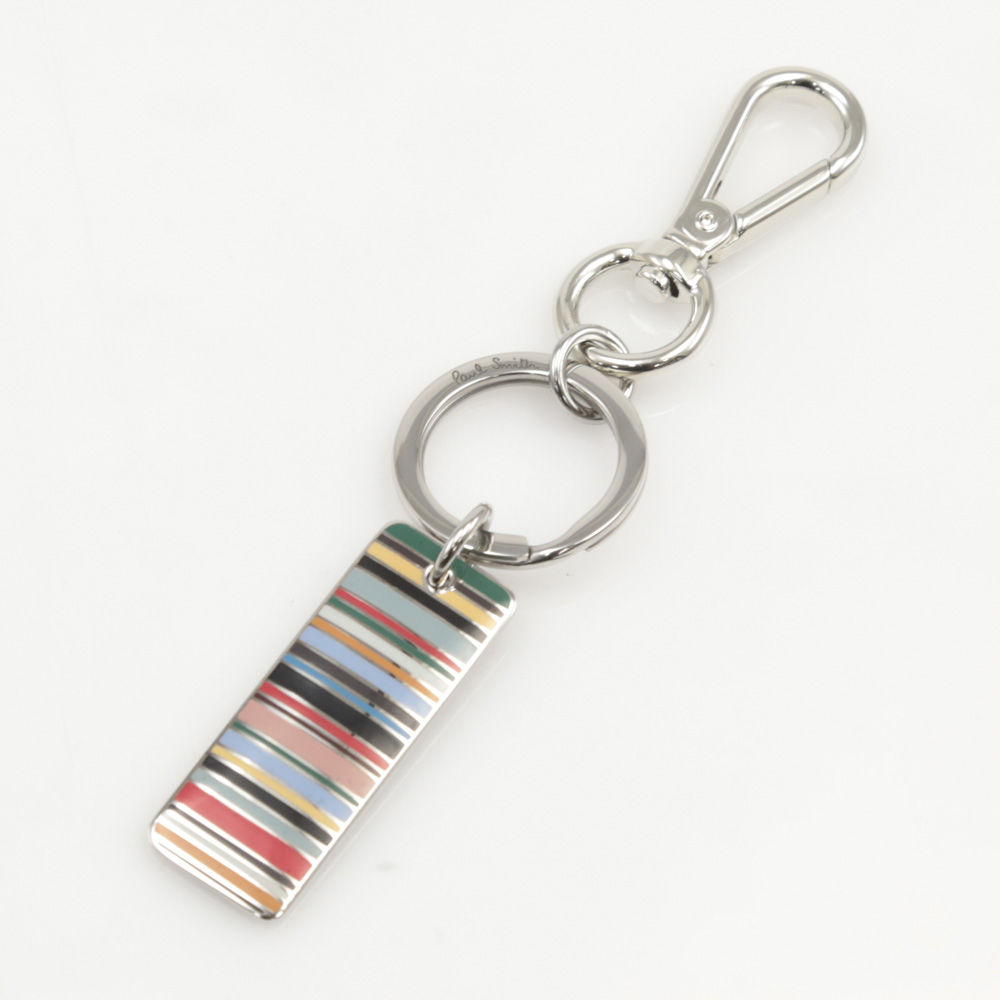 ポールスミス Paul Smith キーリング STRIPE TAGキーリング M1AKEYR/ASTAG【FITHOUSE ONLINE SHOP】