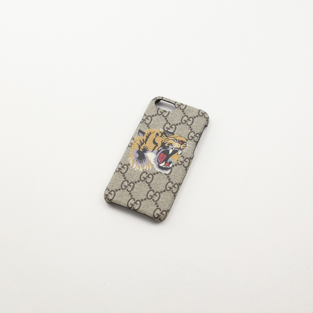 グッチ GUCCI iphoneケース BESTIARYトラ IPHONE8 527261K5Y0N 8919/ベージュ【FITHOUSE ONLINE SHOP】