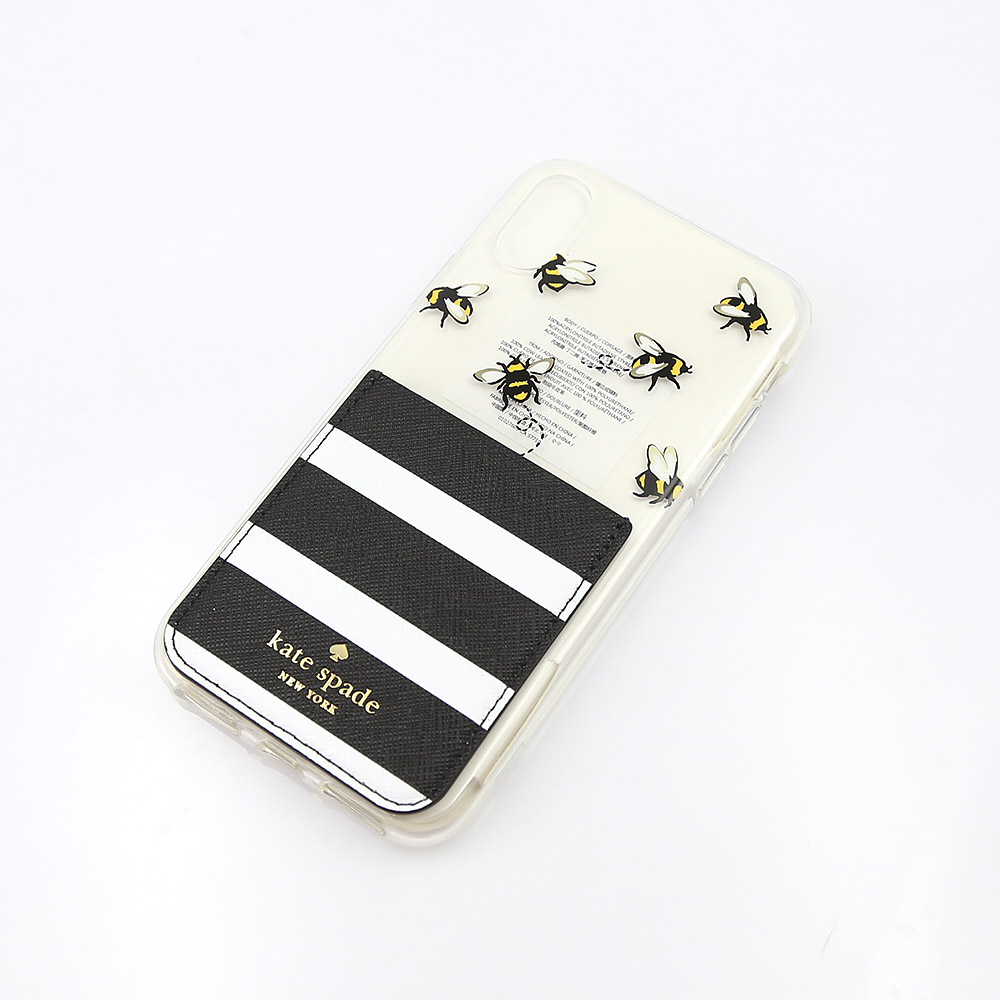 ケイトスペード KATE SPADE iphonenケース BEE MY HONEY/IPHONE X クリアケース 8ARU2477【FITHOUSE ONLINE SHOP】