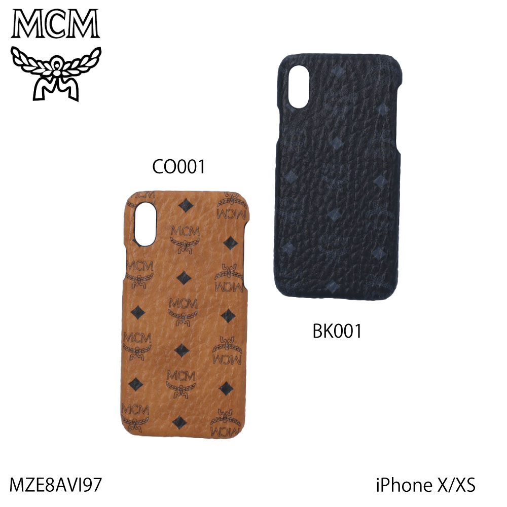 エムシーエム MCM スマホケース VISETOSロゴIPHONE X MZE8AVI97【FITHOUSE ONLINE SHOP】