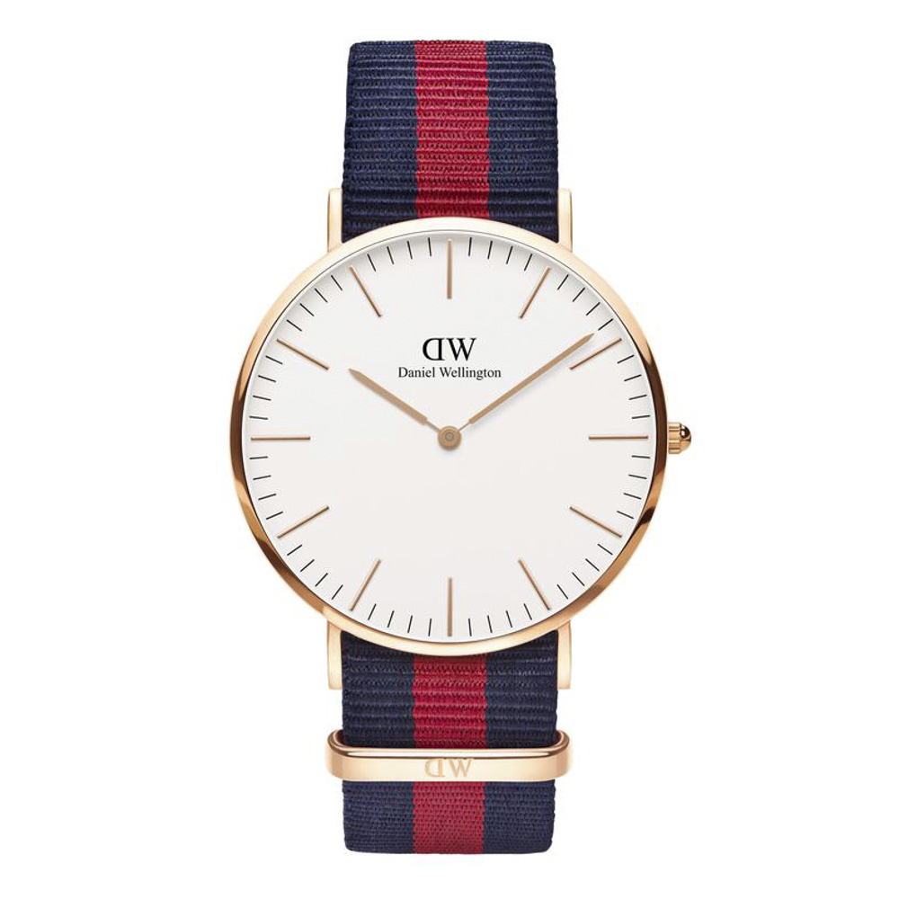 ダニエルウェリントン DANIEL WELLINGTON 腕時計 CL OXFORD RG 40mm NATO DW00100001【FITHOUSE ONLINE SHOP】