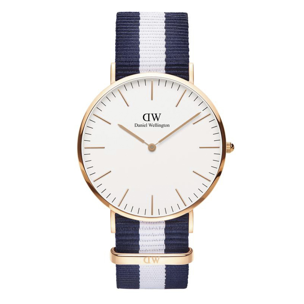 ダニエルウェリントン DANIEL WELLINGTON 腕時計 CL GLASGOW RG 40mm NATO DW00100004【FITHOUSE ONLINE SHOP】