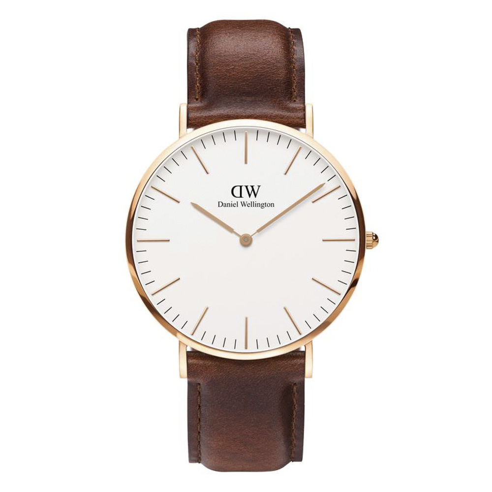 ダニエルウェリントン DANIEL WELLINGTON 腕時計 CL ST ANDREWS RG 40mm レザー DW00100006【FITHOUSE ONLINE SHOP】