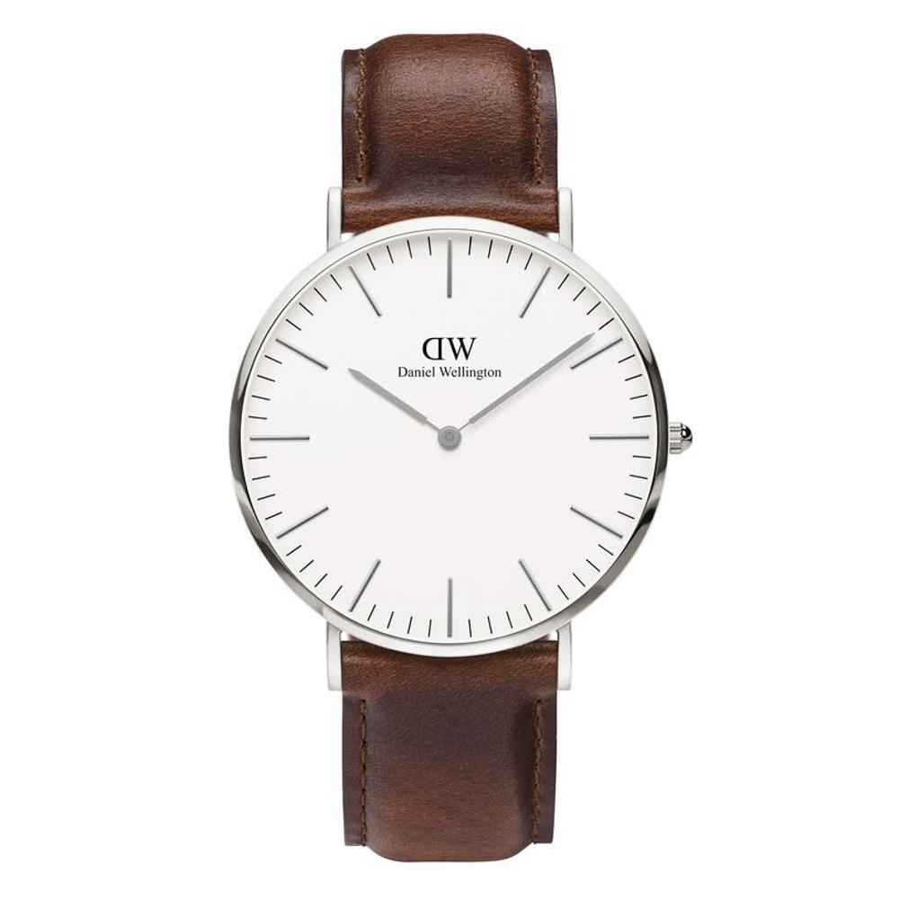 ダニエルウェリントン DANIEL WELLINGTON 腕時計 CL ST ANDREWS SV 40mm レザー DW00100021【FITHOUSE ONLINE SHOP】