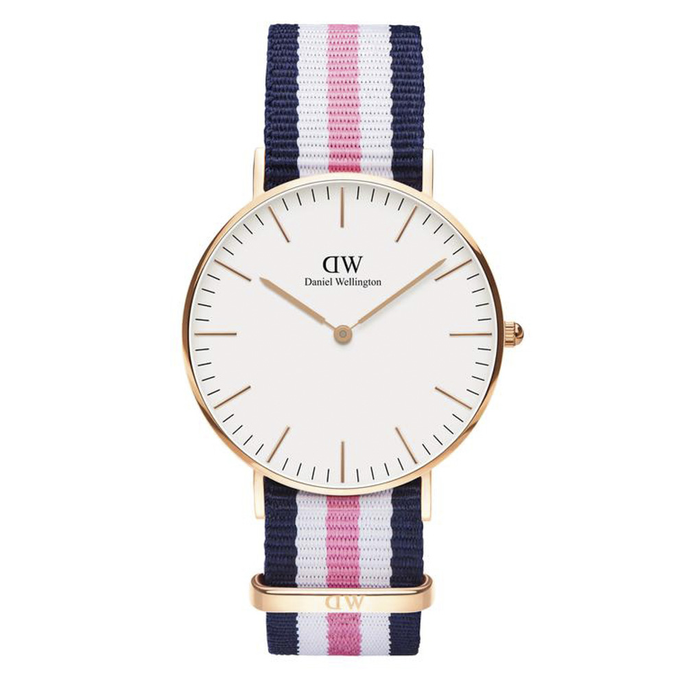 ダニエルウェリントン DANIEL WELLINGTON 腕時計 CL SUTHAMPTOM RG 36mm NATO DW0010003404【FITHOUSE ONLINE SHOP】