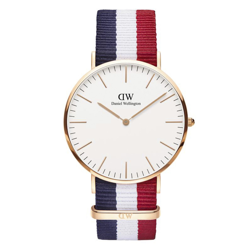 ダニエルウェリントン DANIEL WELLINGTON 腕時計 CAMBRIDGE RG 40mm NATO DW00100003【FITHOUSE ONLINE SHOP】