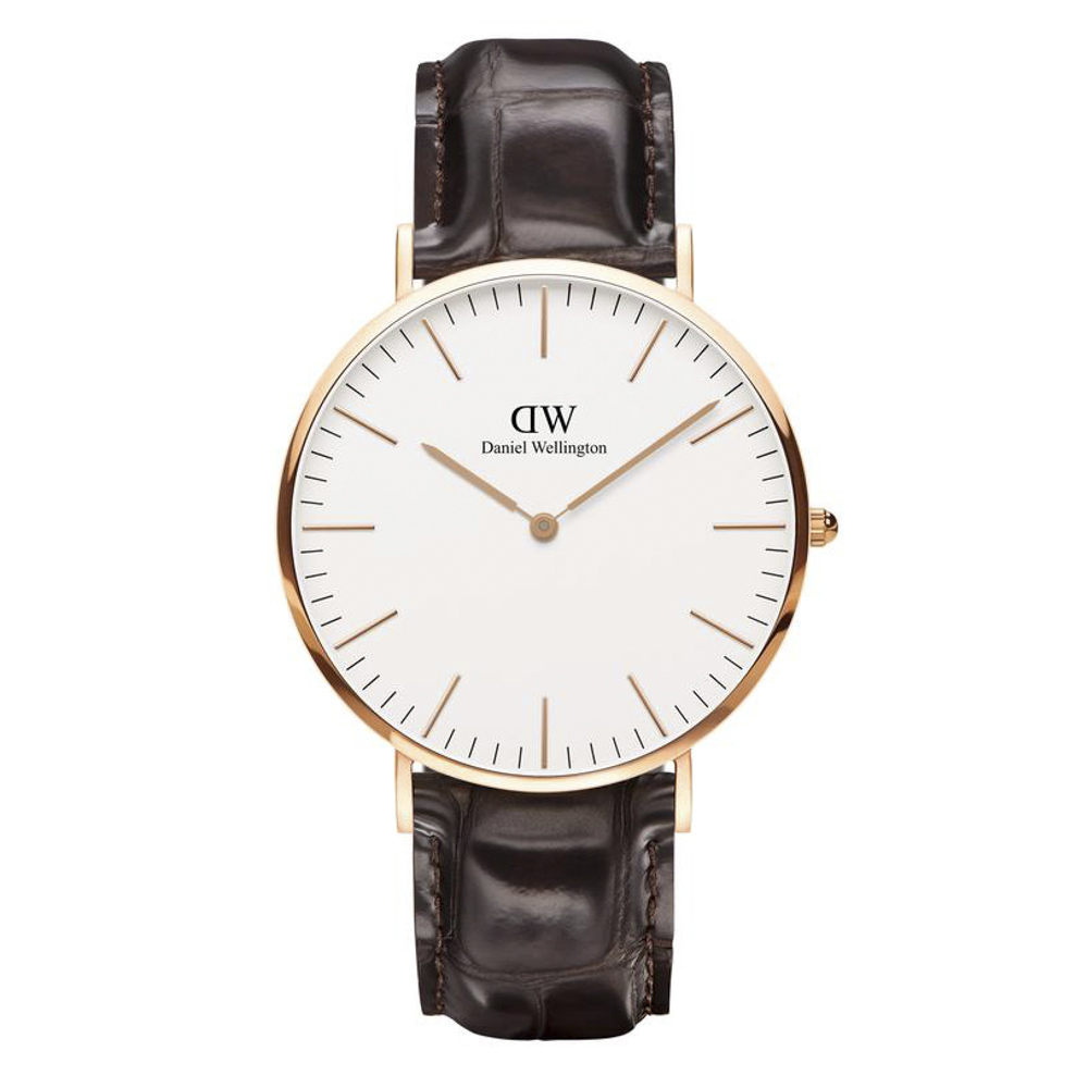 ダニエルウェリントン DANIEL WELLINGTON 腕時計 CL YORK RG 40mm レザー DW00100011【FITHOUSE ONLINE SHOP】