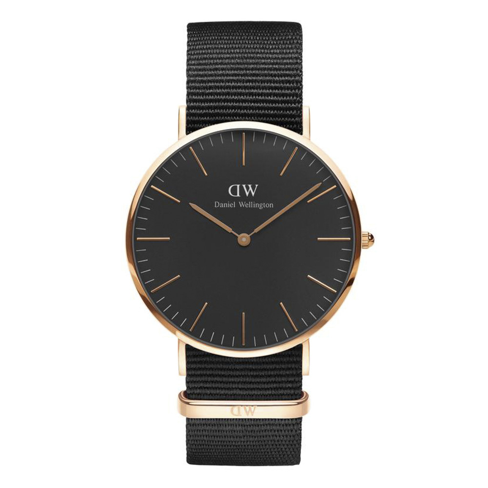 ダニエルウェリントン DANIEL WELLINGTON 腕時計 CORNWALL RG 40mm NATO DW00100148【FITHOUSE ONLINE SHOP】