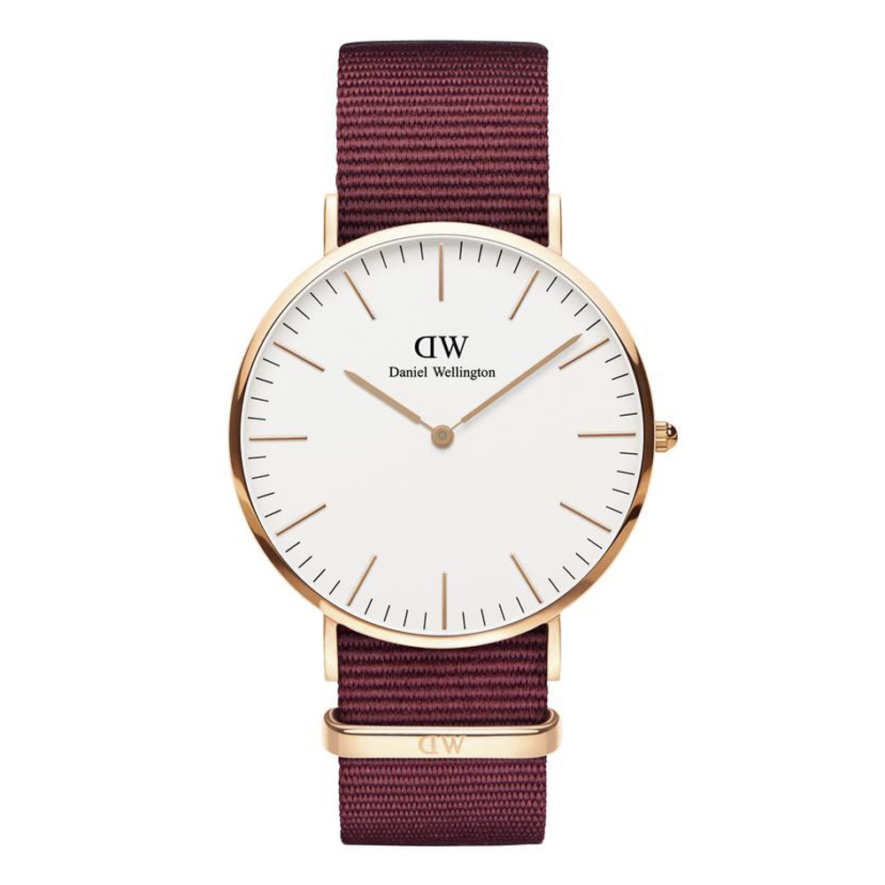 ダニエルウェリントン DANIEL WELLINGTON 腕時計 ROSELYN RG 40mm NATO DW00100267【FITHOUSE ONLINE SHOP】