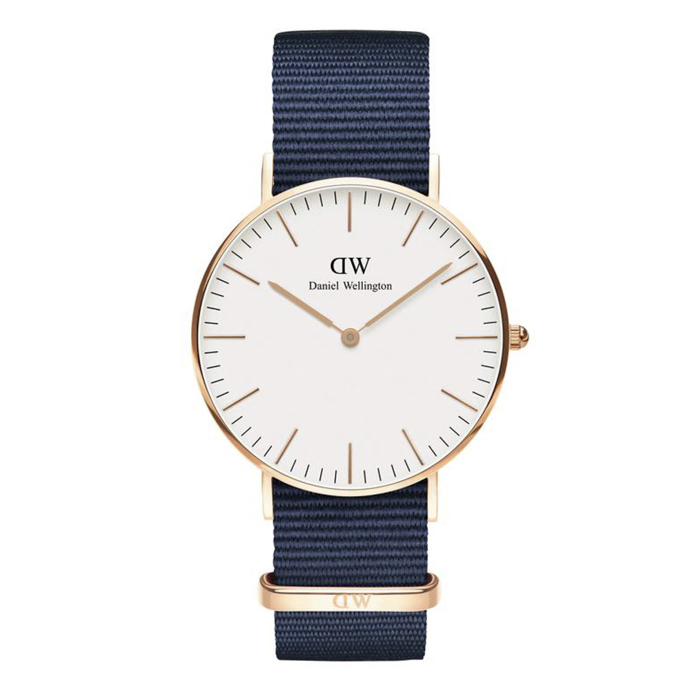 ダニエルウェリントン DANIEL WELLINGTON 腕時計 BAYSWATER RG 36mm NATO DW00100279【FITHOUSE ONLINE SHOP】
