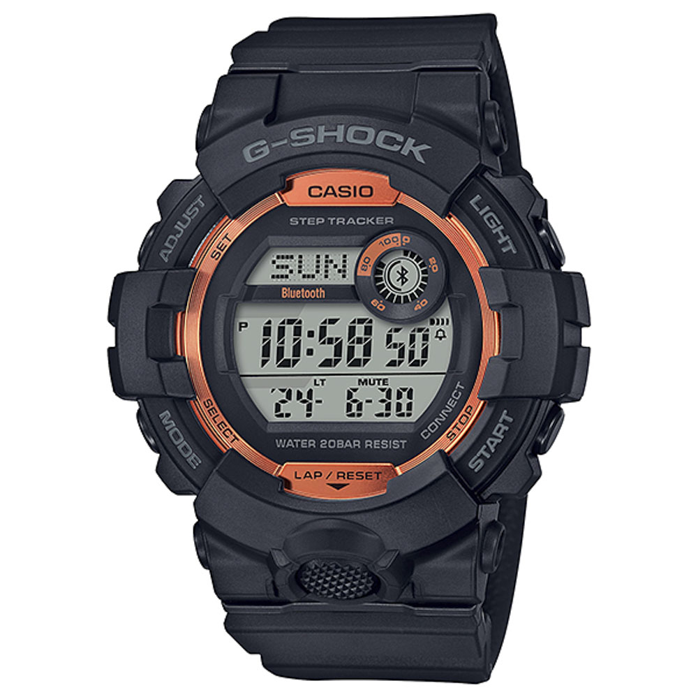 ジーショック G-SHOCK 腕時計 G-SQUAD FIRE PACKAGE '20 Mウォッチ GBD-800SF-1JR【FITHOUSE ONLINE SHOP】
