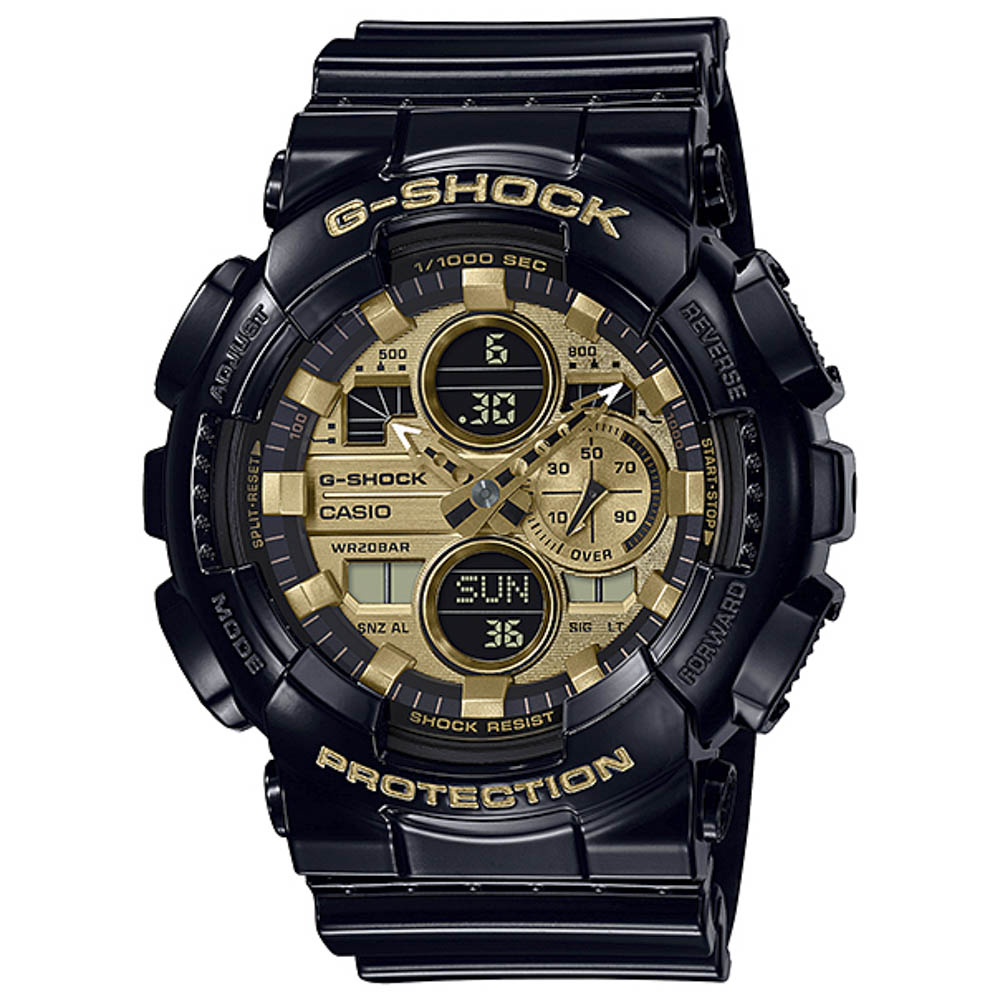 ジーショック G-SHOCK 腕時計 Garish Color Series アナデジMウォッチ GA-140GB-1A1JF【FITHOUSE ONLINE SHOP】