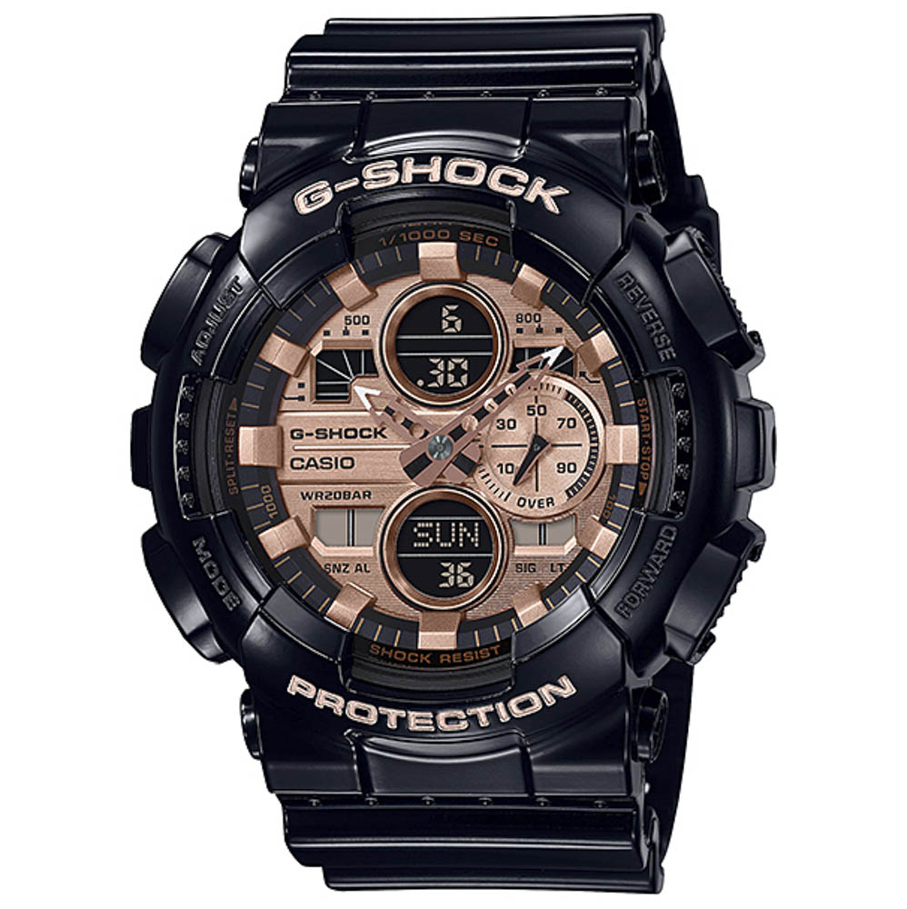 ジーショック G-SHOCK 腕時計 Garish Color Series アナデジMウォッチ GA-140GB-1A2JF【FITHOUSE ONLINE SHOP】