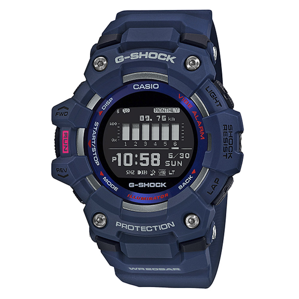 ジーショック G-SHOCK 腕時計 G-SQUAD GBD-100-2JF【FITHOUSE ONLINE SHOP】