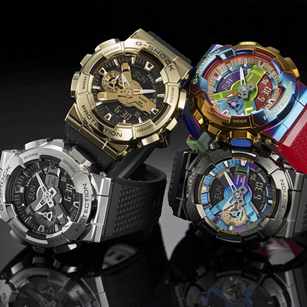 ジーショック G-SHOCK 腕時計 Metal Covered GM-110アナデジMウォッチ GM-110-1AJF【FITHOUSE ONLINE SHOP】