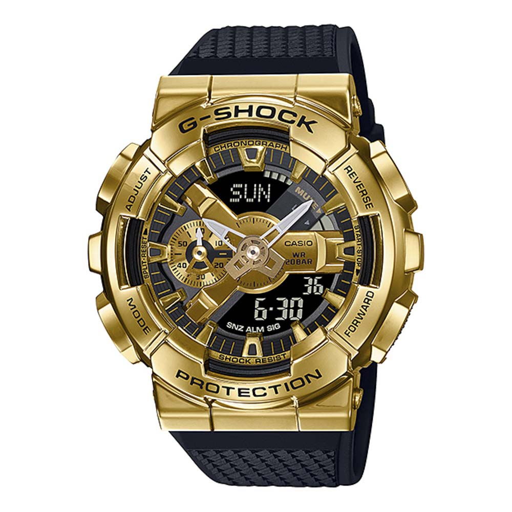 ジーショック G-SHOCK 腕時計 Metal Covered GM-110アナデジMウォッチ GM-110G-1A9JF【FITHOUSE ONLINE SHOP】