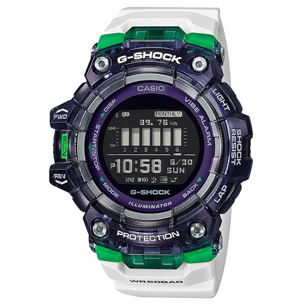 ジーショック G-SHOCK 腕時計 G-SQUAD Bluetooth デジタルMウォッチ GBD-100SM-1A7JF【FITHOUSE ONLINE SHOP】