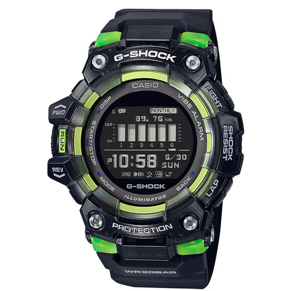 ジーショック G-SHOCK 腕時計 G-SQUAD Bluetooth デジタルMウォッチ GBD-100SM-1JF【FITHOUSE ONLINE SHOP】