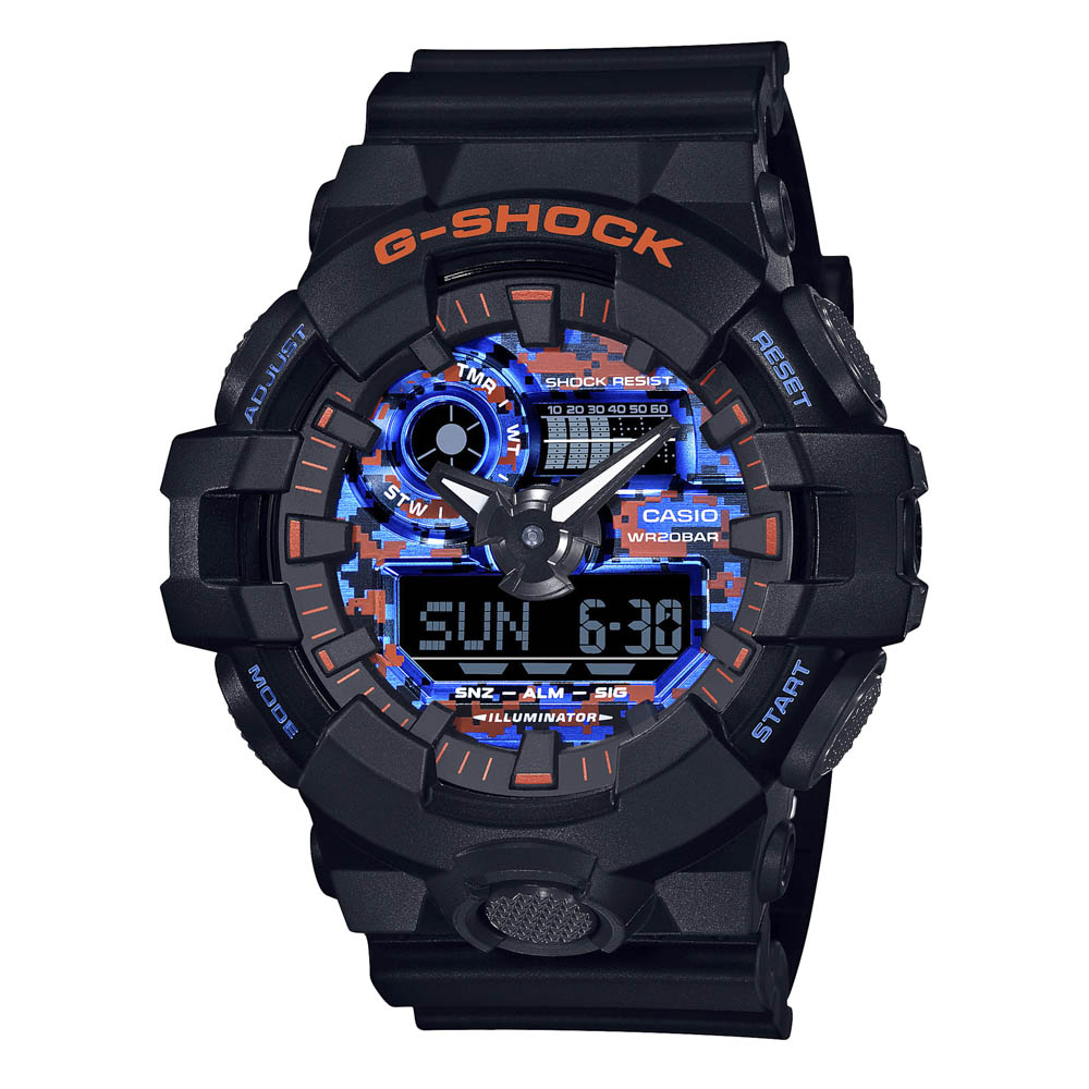 ジーショック G-SHOCK 腕時計 City Camouflage アナデジMウォッチ GA-700CT-1AJF【FITHOUSE ONLINE SHOP】