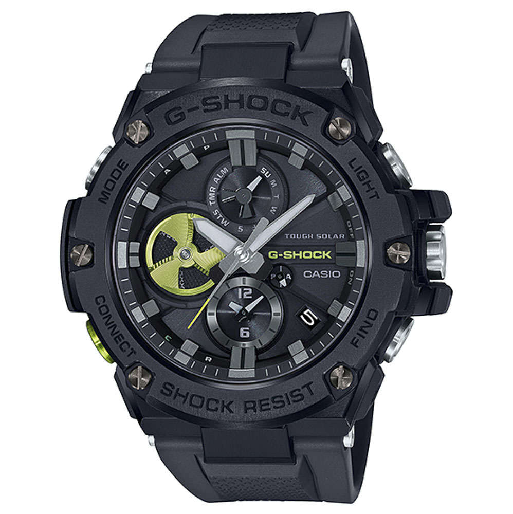 ジーショック G-SHOCK 腕時計 G-STEEL BLACK×High Tech Accent Mウォッチ GST-B100B-1A3JF【FITHOUSE ONLINE SHOP】