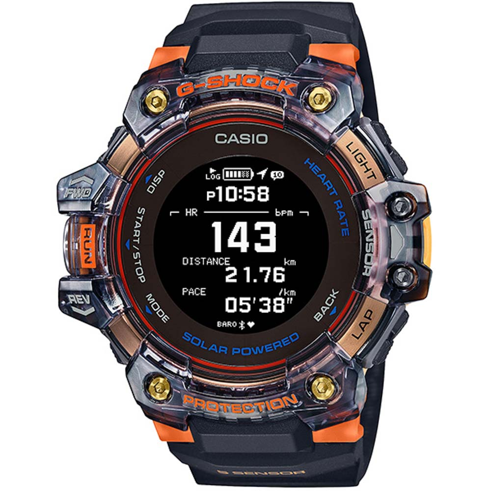 ジーショック G-SHOCK 腕時計 G-SQUAD Bluetooth 心拍数+GPS搭載Mウォッチ GBD-H1000-1A4JR【FITHOUSE ONLINE SHOP】