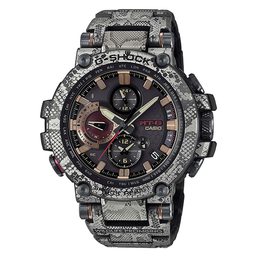 ジーショック G-SHOCK 腕時計 MT-G WILDLIFE PROMISINGコラボ Bluetooth電波ソーラーMウォッチ MTG-B1000WLP-1AJR【FITHOUSE ONLINE SHOP】