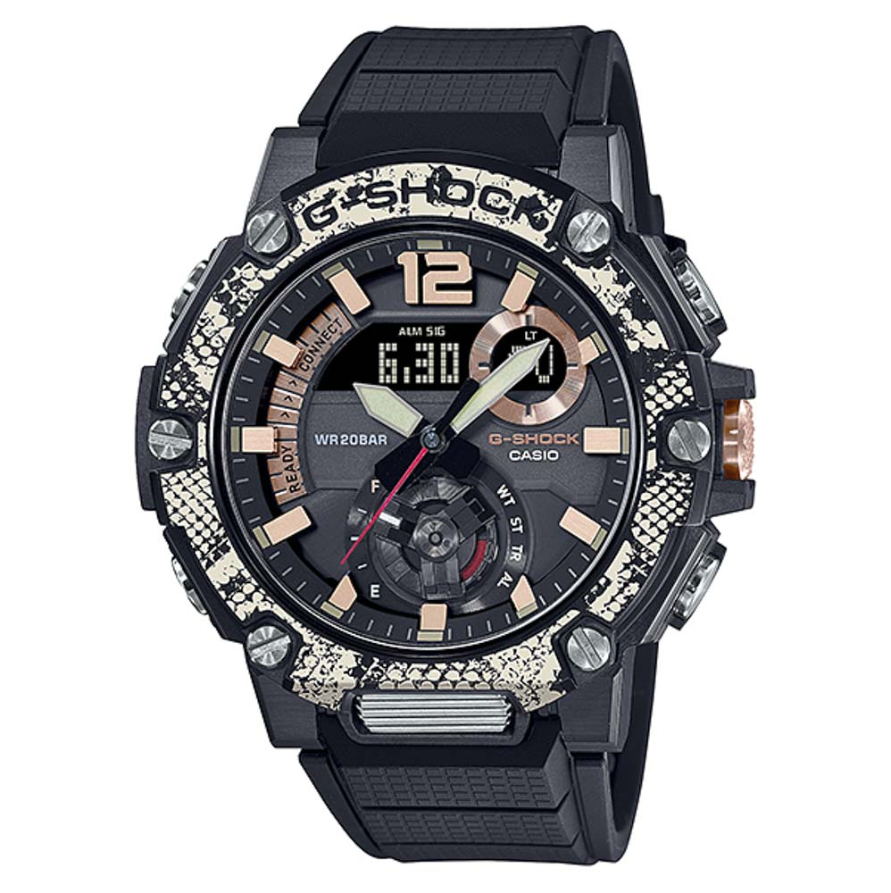 ジーショック G-SHOCK 腕時計 G-STEEL WILDLIFE PROMISINGコラボ BluetoothソーラーMウォッチ GST-B300WLP-1AJR【FITHOUSE ONLINE SHOP】