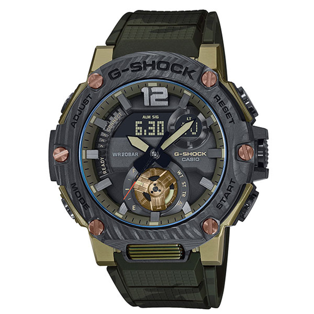 ジーショック G-SHOCK 腕時計 G-STEEL BluetoothソーラーアナデジMウォッチ GST-B300XB-1A3JF【FITHOUSE ONLINE SHOP】