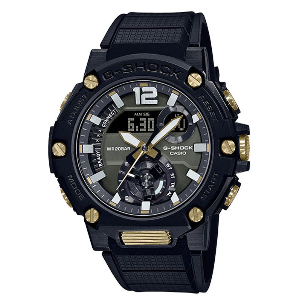 ジーショック G-SHOCK 腕時計 G-STEEL BluetoothソーラーアナデジMウォッチ GST-B300B-1AJF【FITHOUSE ONLINE SHOP】