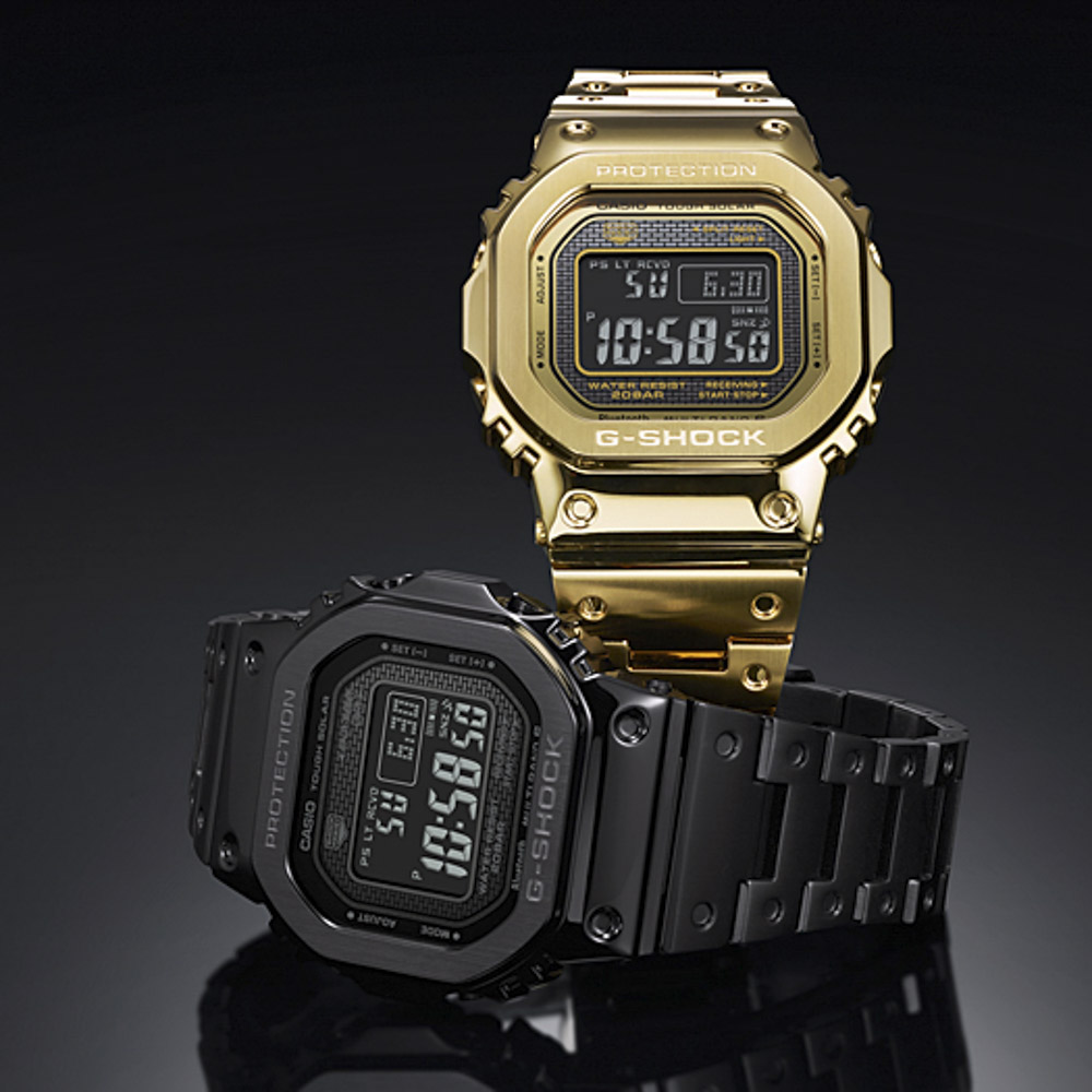 ジーショック G-SHOCK 腕時計 G・18A Bluetoothマルチ6電波ソーラーM GMW-B5000GD-9JF【FITHOUSE ONLINE SHOP】