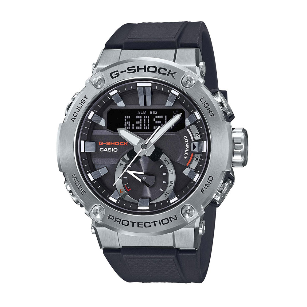 ジーショックカシオ G-SHOCK CASIO 腕時計 G-STEEL BluetoothソーラーM GST-B200-1AJF【FITHOUSE ONLINE SHOP】