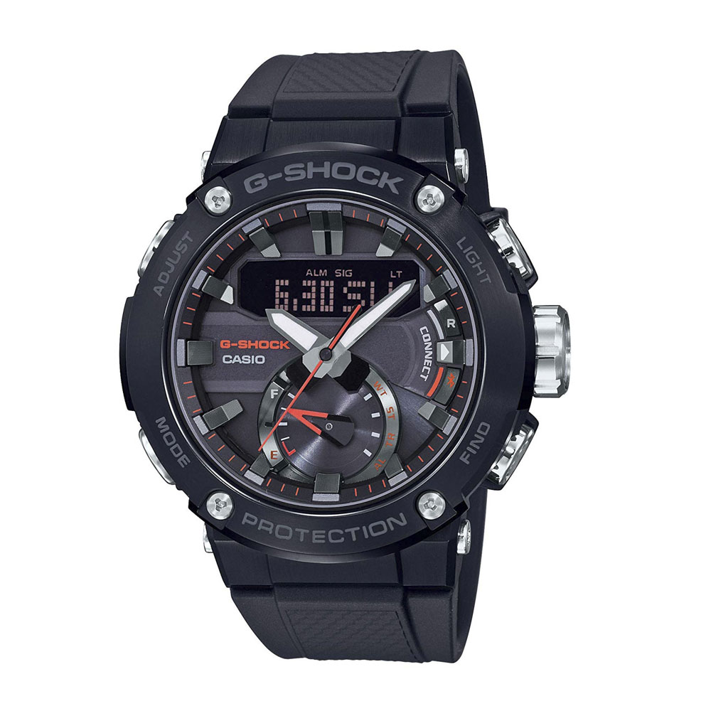 ジーショックカシオ G-SHOCK CASIO 腕時計 G-STEEL BluetoothソーラーM GST-B200B-1AJF【FITHOUSE ONLINE SHOP】