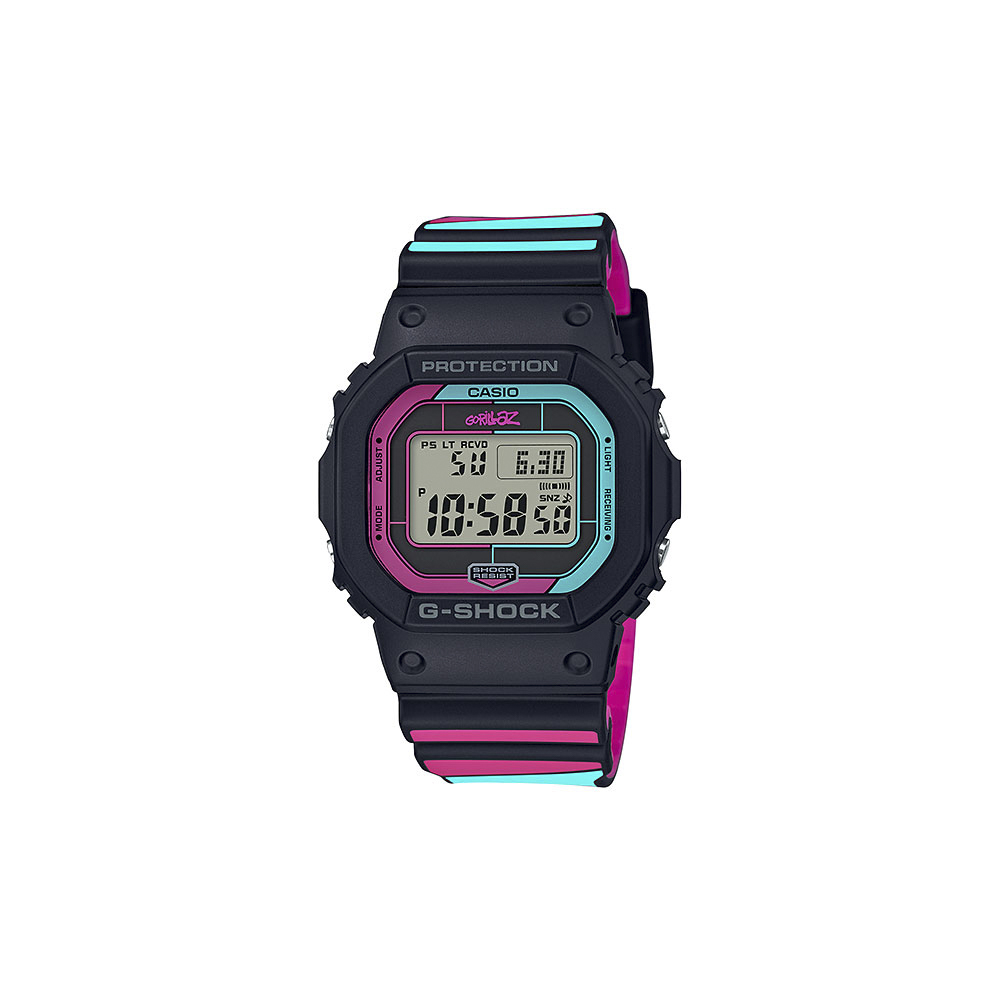 ジーショック G-SHOCK 腕時計 GORILLAZ Bluetooth電波ソーラー GW-B5600GZ-1JR【FITHOUSE ONLINE SHOP】