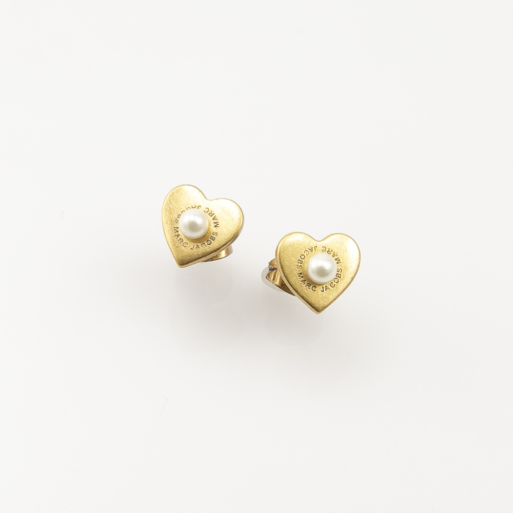 マークジェイコブス MARC JACOBS ピアス ANTIQUE GL HEARTS STUDS M0008660【FITHOUSE ONLINE SHOP】
