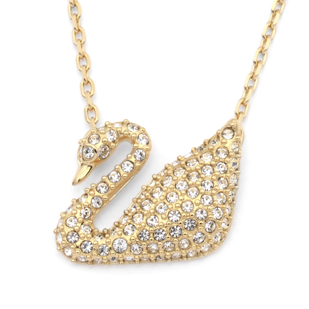 SWAROVSKI SWA・14A SWAN NECKLACE 5063921 ギフトラッピング無料